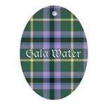 Tartan - Gala Water dist. Ornament (Oval)