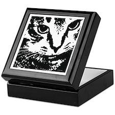 'Wes' the Cat Keepsake Box