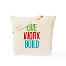 Cute Building Tote Bag