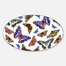 Butterflies and Moths Watercolours Decal