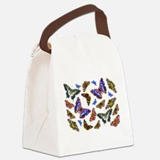 Butterflies and Moths Watercolours Canvas Lunch Ba
