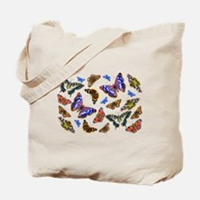Butterflies and Moths Watercolours Tote Bag