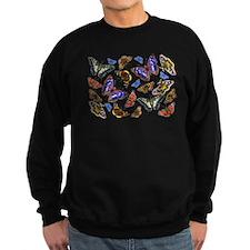 Butterflies and Moths Watercolours Jumper Sweater