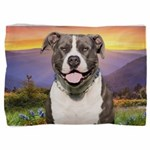 Pit Bull Meadow Pillow Sham