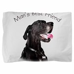 Mans Best Friend Pillow Sham
