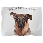 Mans Best Friend Pillow Sham