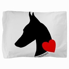 heartsilhouette.png Pillow Sham