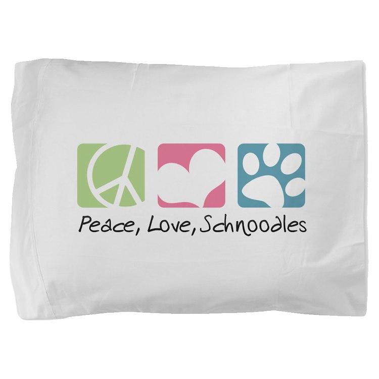 peacedogs.png Pillow Sham