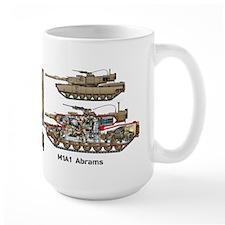 M1a1 Abrams 11th Armored Cavalry Mugs