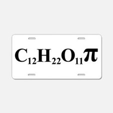 Sugar Pi Aluminum License Plate