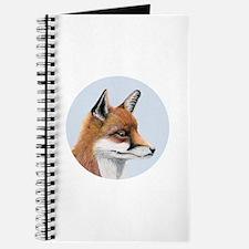 Red Fox Portrait Watercolour Journal