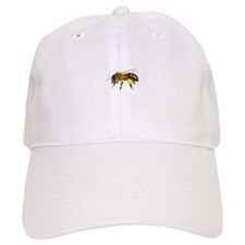 Honey bee watercolour / watercolor painting Baseball Cap