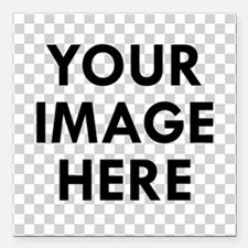 "CUSTOM Your Image Square Car Magnet 3"" x 3"""