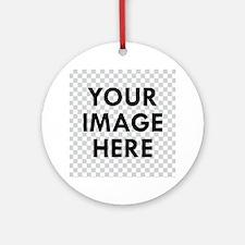 CUSTOM Your Image Ornament (Round)