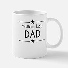 Yellow Lab Dad Mugs