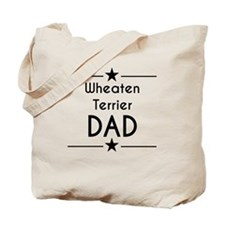 Wheaten Terrier Dad Tote Bag