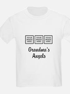 CUSTOM Grandmas Angels - 3 Grandkids T-Shirt