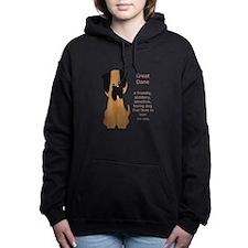 What is a Great Dane Funny Cartoon dog pet Women's