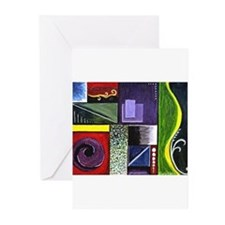 Unique Artwork and artists Greeting Cards (Pk of 20)