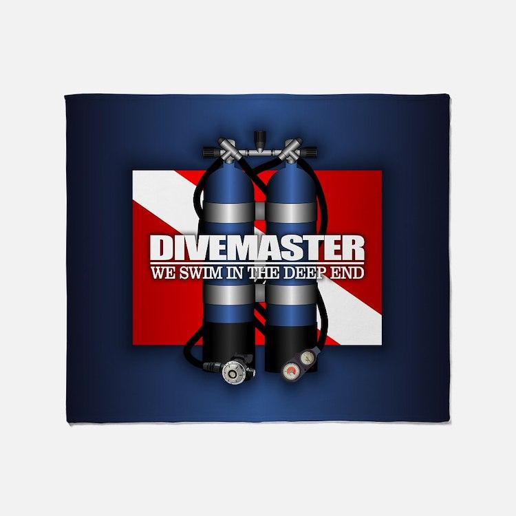 Divemaster (st) Throw Blanket