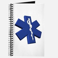 Blue Medical Symbol Three Dimensional Journal