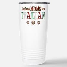 Italian Moms Stainless Steel Travel Mug
