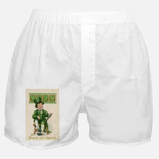 St patricks Day Boxer Shorts