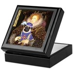 Queen-Sir Pug (17) Keepsake Box
