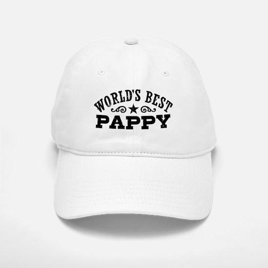 World's Best Pappy Baseball Baseball Cap