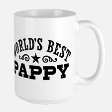 World's Best Pappy Large Mug