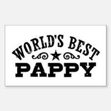 World's Best Pappy Decal