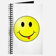 Unique Yellow smiley Journal