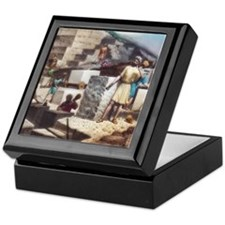 Cute Magic lantern slide Keepsake Box