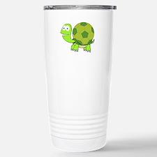 Soccer Turtle Travel Mug
