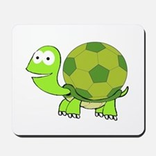 Soccer Turtle Mousepad