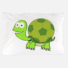 Soccer Turtle Pillow Case
