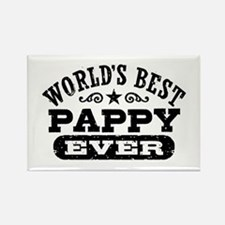 World's Best Pappy Ever Rectangle Magnet
