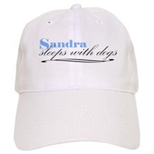Sandra Sleeps With Dogs Baseball Cap