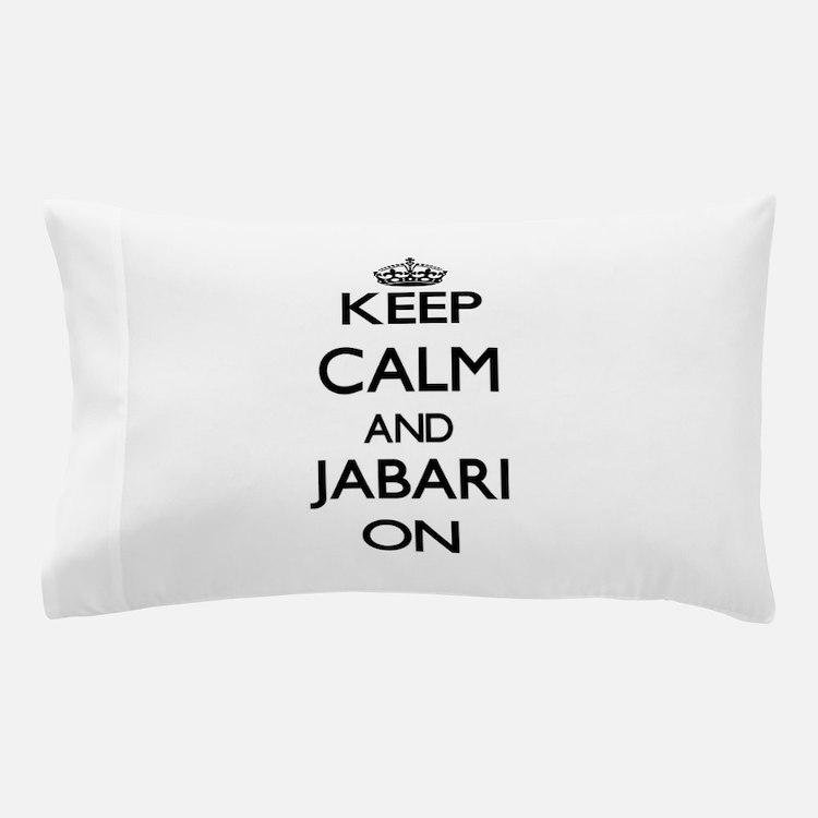 Keep Calm and Jabari ON Pillow Case