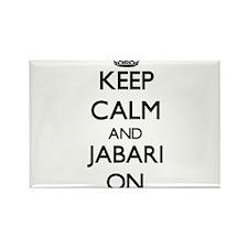 Keep Calm and Jabari ON Magnets