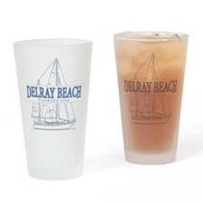 Delray Beach - Drinking Glass