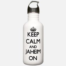 Keep Calm and Jaheim O Water Bottle