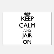 Keep Calm and Jair ON Postcards (Package of 8)