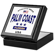 Palm Coast Keepsake Box