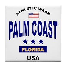 Palm Coast Tile Coaster