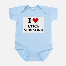 I love Utica New York Body Suit