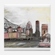 Louisville Skyline Tile Coaster