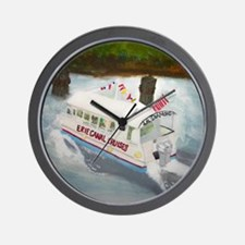 Erie Canal Cruises Wall Clock