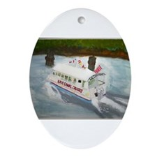 Erie Canal Cruises Ornament (Oval)