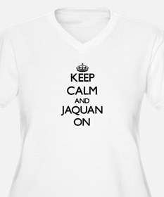 Keep Calm and Jaquan ON Plus Size T-Shirt